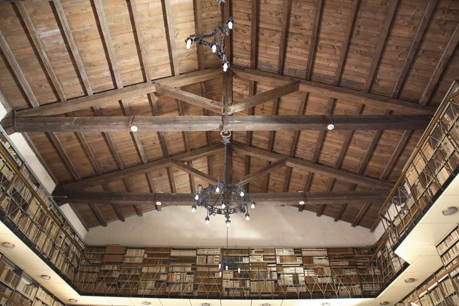 Restauro di Palazzo della Signoria di Jesi: biblioteca Planettiana