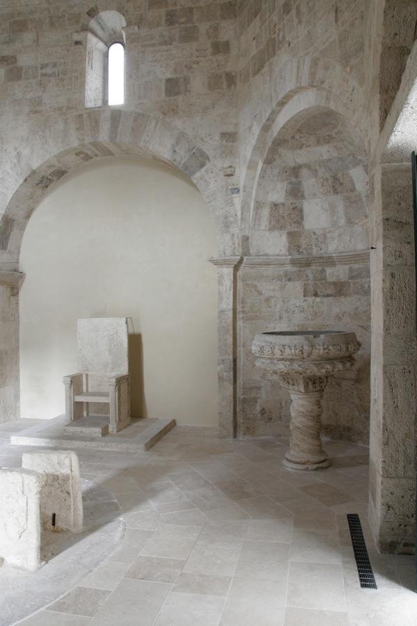 Restauro monumentale del Battistero della Cattedrale di Ascoli Piceno