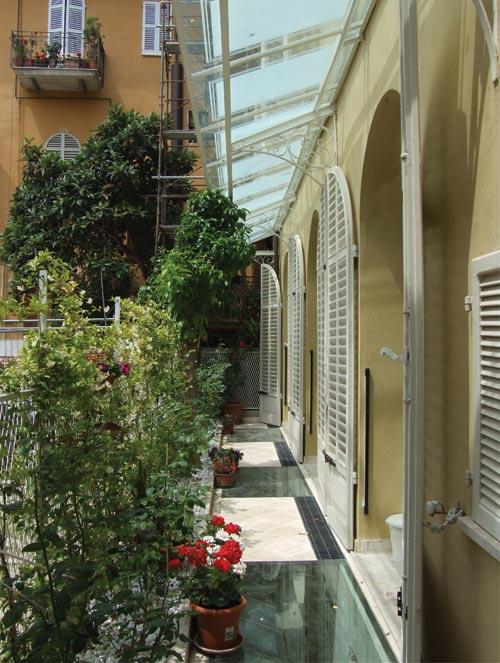 Palazzo Serra in via Vidacilio ad Ascoli Piceno