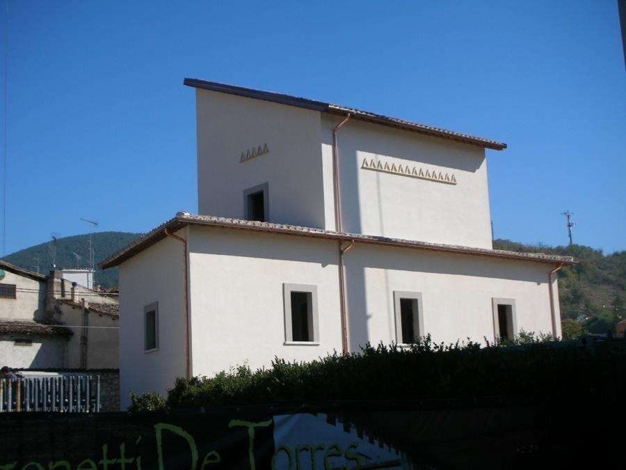 Restauro Monumentale Villa Dragonetti a Paganica