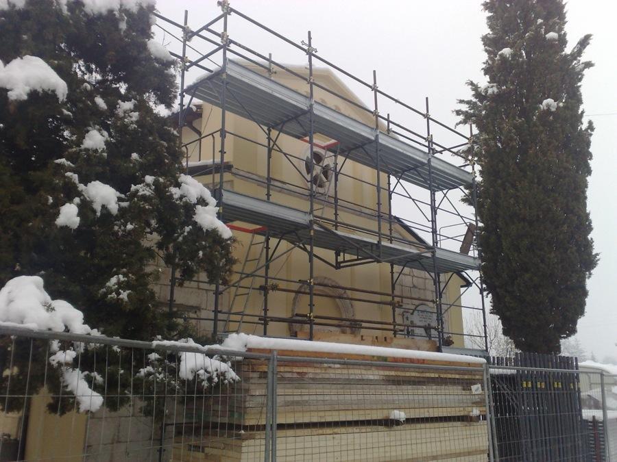Restauro e consolidamento strutturale della Chiesa Ss Giovanni Battista e Benedetto