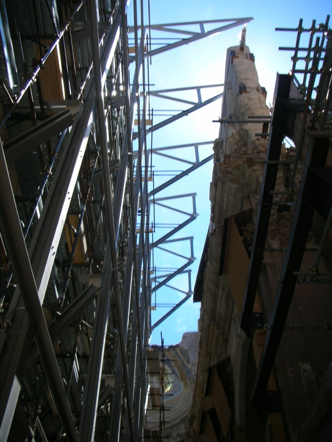 Messa in sicurezza Chiesa Santa Maria Paganica dell'Aquila