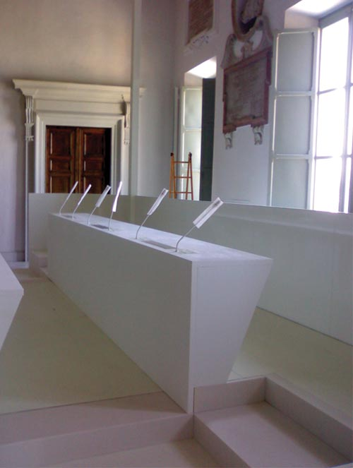 Adeguamento della sala consiliare del Palazzo degli Anziani ad Ancona