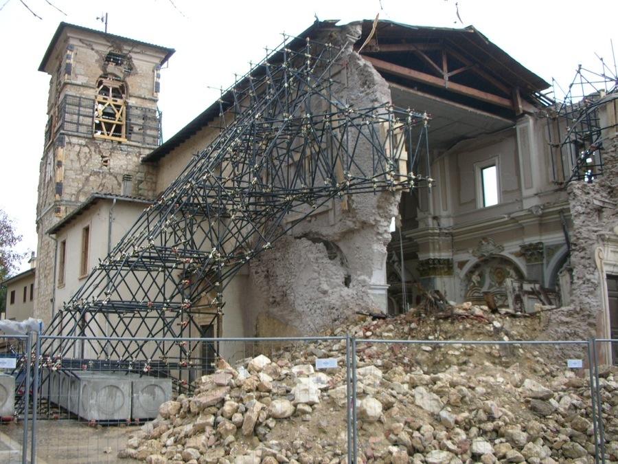 Restauro Chiesa San Michele L'Aquila