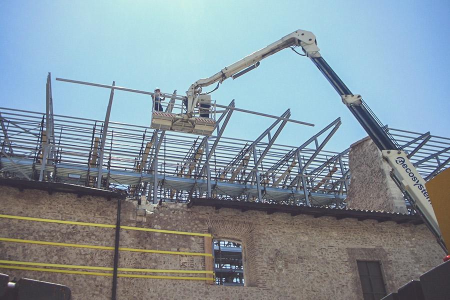 interventi post-sisma edifici danneggiati impresa gaspari ascoli piceno