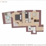 Planimetria appartamento Condominio San Tommaso 4